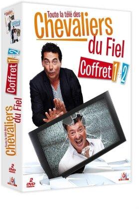 Les Chevaliers du Fiel - Toute la télé des chevaliers du fiel 1 + 2 (2 DVDs)
