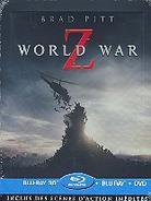 World War Z (2013) (Edizione Limitata, Steelbook, Blu-ray 3D + Blu-ray + DVD)