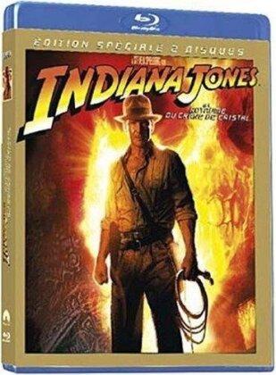 Indiana Jones et le royaume du crane de cristal (2008) (2 Blu-ray)