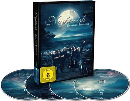 Nightwish - Showtime, Storytime (2 DVD + 2 CDs + Digibook)