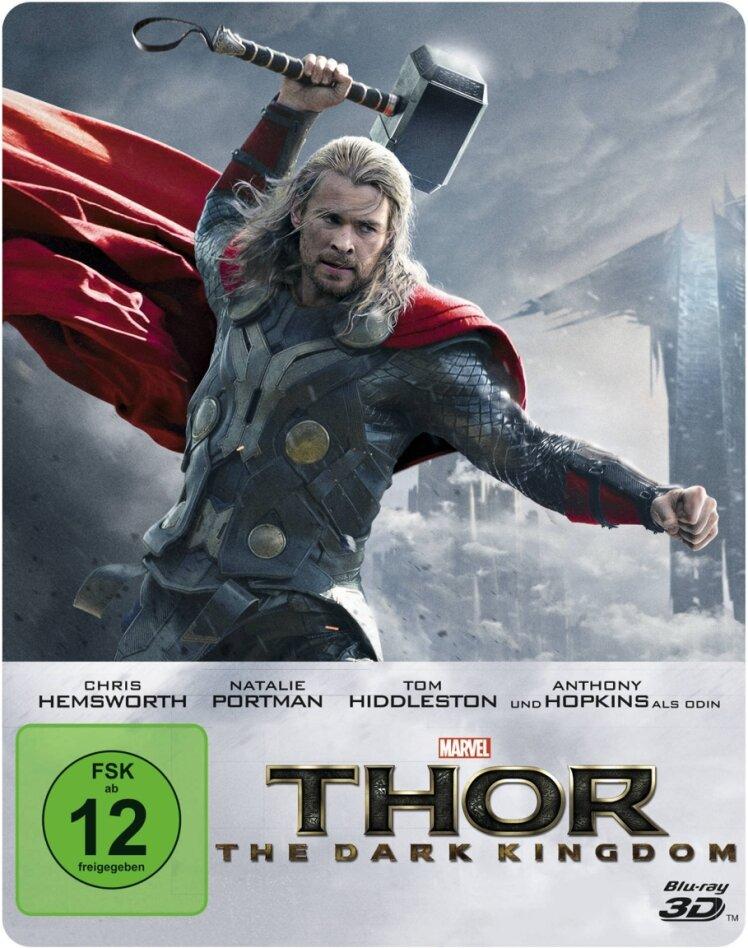 Thor 2 (2013) (Edizione Limitata, Steelbook, Blu-ray 3D + Blu-ray)