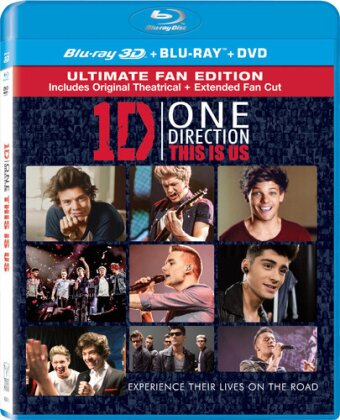 One Direction - This is Us (Ultimate Fan Edition, Real 3D / Blu-ray with DVD)