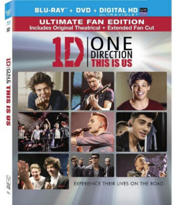 One Direction - This is Us (Ultimate Fan Edition, with DVD)