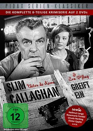 Slim Callaghan greift ein - Die komplette 8-teilige Krimiserie (2 DVDs)