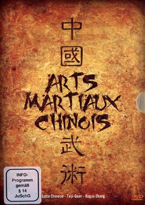 Arts Martiaux Chinois - Lutte Chinoise / Taiji-Quan / Bagua Zhang (Box, 3 DVDs)