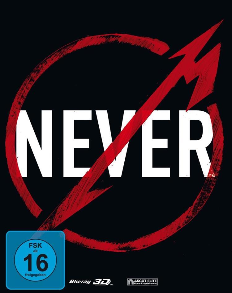 Metallica - Through The Never (Steelbook, Blu-ray 3D + Blu-ray)