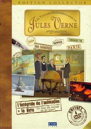 Les Voyages extraordinaires de Jules Verne - L'intégrale de l'animation (1997) (Édition Collector, 4 DVD)