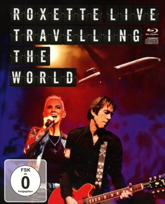Roxette - Live - Travelling the world (Blu-ray + CD)