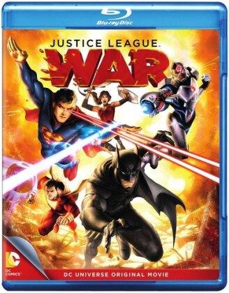 Justice League - War (Blu-ray + DVD)