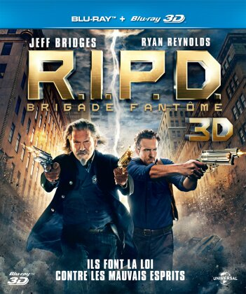 R.I.P.D. - Brigade fantôme (2013) (Blu-ray 3D + Blu-ray)