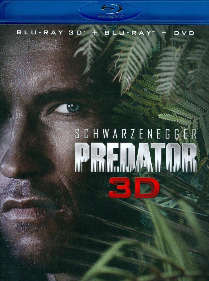 Predator (1987) (Blu-ray 3D + Blu-ray + DVD)