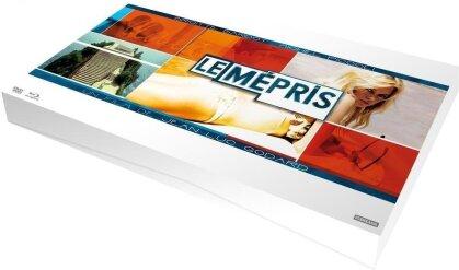Le mépris (1963) (50th Anniversary Edition, Blu-ray + DVD + CD + Buch)