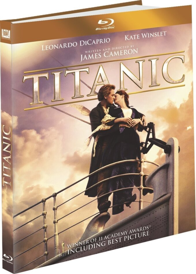 Titanic (1997) (Édition Digibook Collector, 2 Blu-rays)
