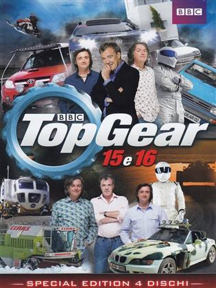 Top Gear - Stagione 15 & 16 (BBC, 4 DVDs)