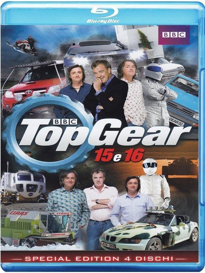 Top Gear - Stagione 15 & 16 (BBC, 4 Blu-rays)