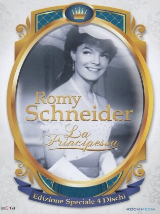 Romy Schneider - La Principessa (Versione Rimasterizzata, Edizione Speciale, 4 DVD)