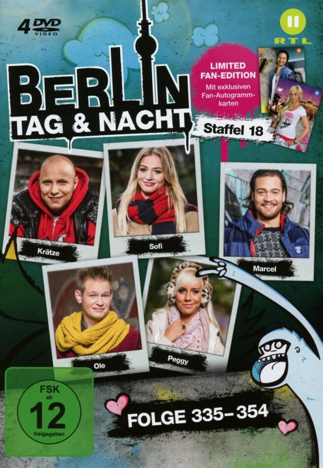Berlin - Tag & Nacht - Staffel 18 (Fan Edition, Limited Edition, 4 DVDs)