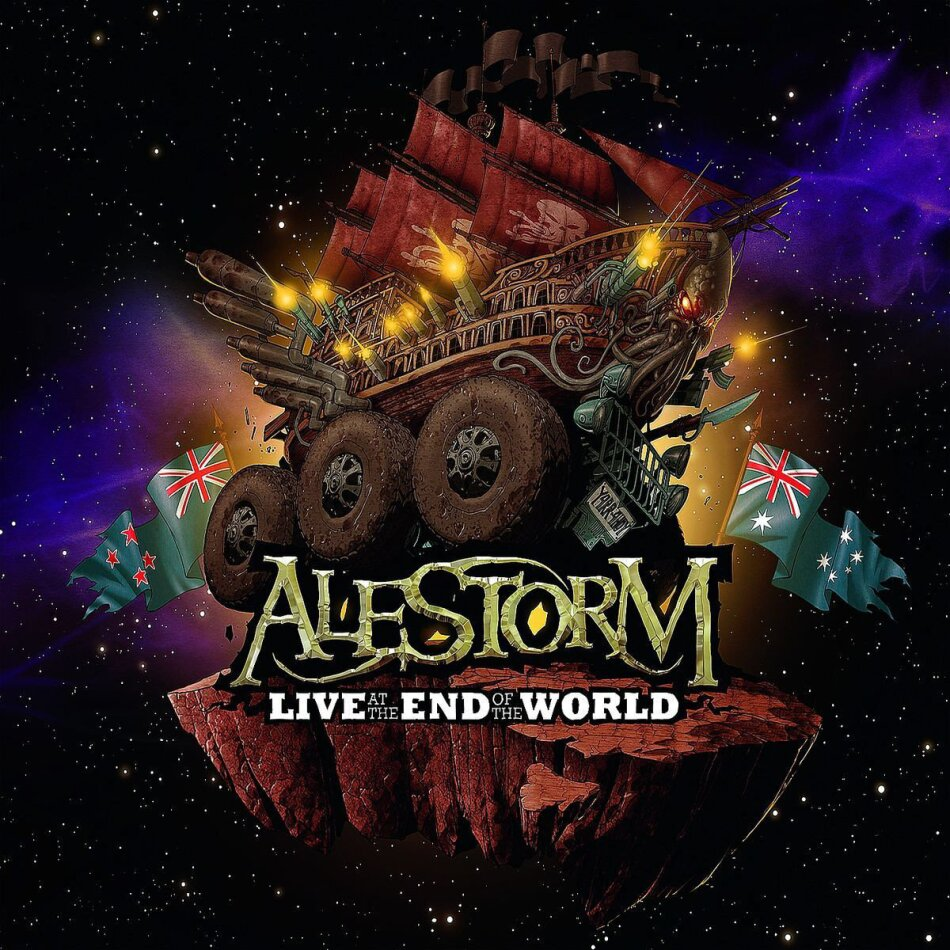 Alestorm - Live at the end of the world (DVD + CD)