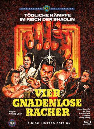 Vier gnadenlose Rächer (1978) (Limited Edition, Mediabook, Uncut, Blu-ray + DVD)