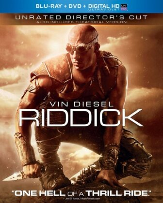 Riddick (2013) (Director's Cut, Unrated, Blu-ray + DVD)