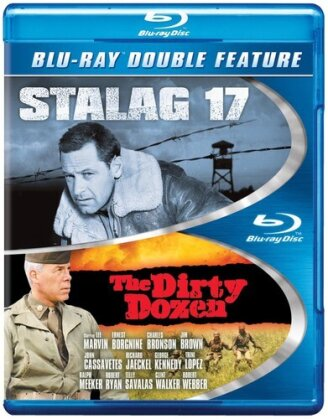 Stalag 17 / The Dirty Dozen (Double Feature, 2 Blu-rays)