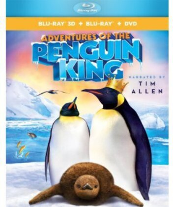 Adventures of the Penguin King (Blu-ray 3D (+2D) + Blu-ray + DVD)