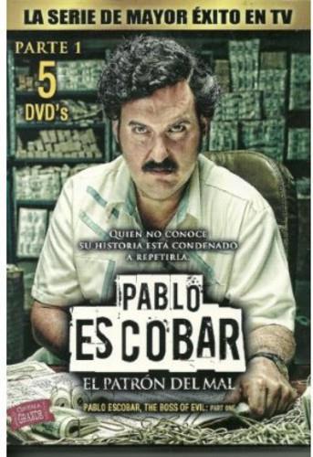 Pablo Escobar: El Patrón del Mal - Parte 1 (5 DVDs)
