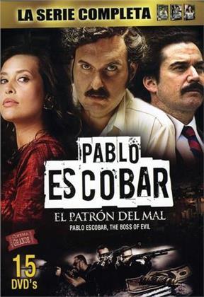 Pablo Escobar: El Patron Del Mal - Parte 1-3 (15 DVDs)