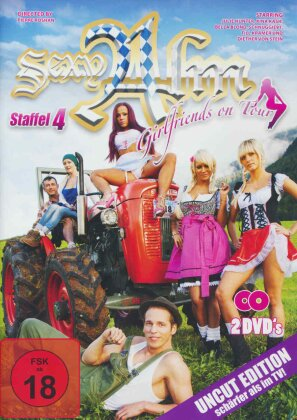 Sexy Alm - Girlfriends on Tour - Staffel 4 (Uncut, 2 DVDs)