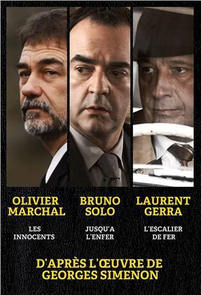 Les innocents / Jusqu'à l'enfer / L'escalier de fer - D'après l'oeuvre de Georges Simenon (3 DVD)