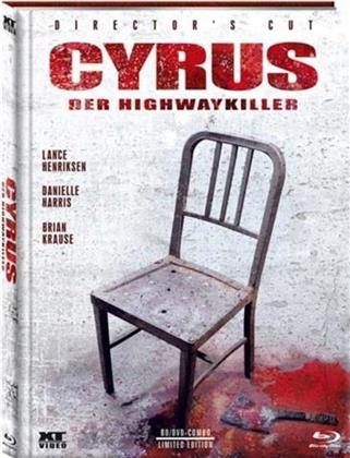 Cyrus - Der Highway Killer (2010) (Director's Cut, Limited Edition, Mediabook, Uncut, Blu-ray + DVD)