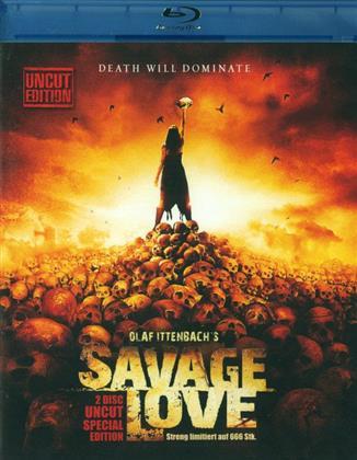 Savage Love (2012) (Limited Edition, Uncut, Blu-ray + DVD)
