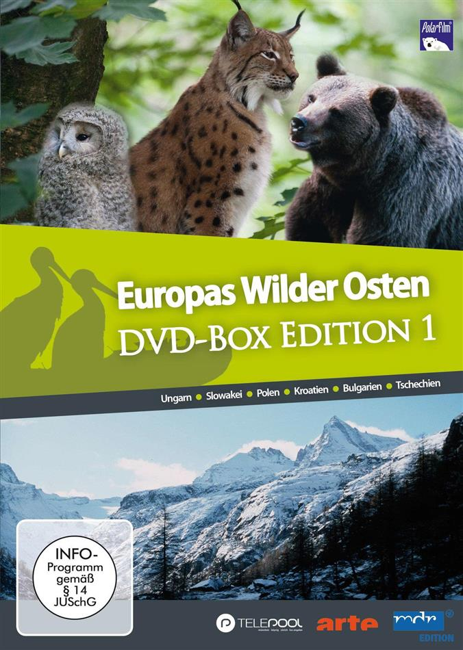 Europas Wilder Osten (Edition 1, 6 DVDs)