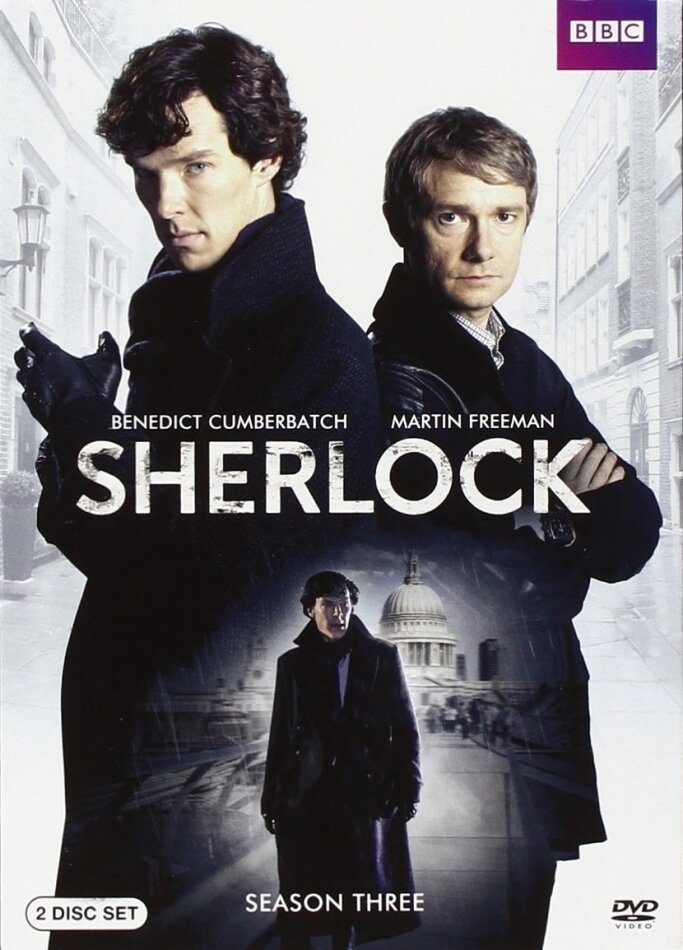 Sherlock - Season 3 (BBC, 2 DVDs)