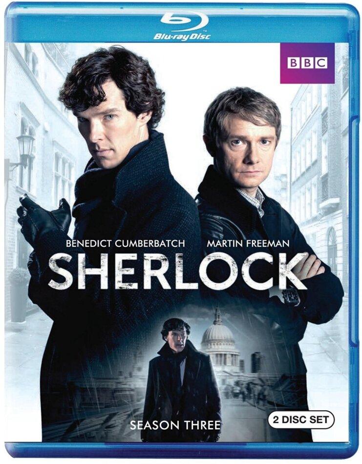 Sherlock - Season 3 (BBC, 2 Blu-ray)