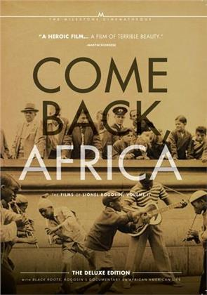 Come Back, Africa (1959) / Black Roots (1970) - The Films of Lionel Rogosin, Vol. 2 (Deluxe Edition, 2 DVD)