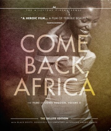 Come Back, Africa (1959) / Black Roots (1970) - The Films of Lionel Rogosin, Vol. 2 (Deluxe Edition, 2 Blu-ray)