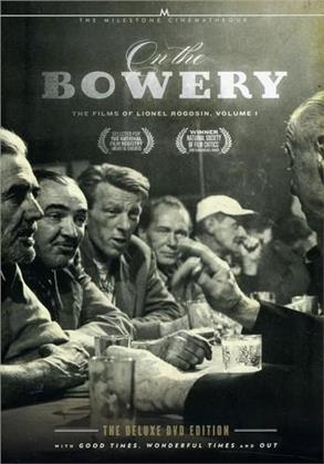 On the Bowery / Good Times, Wonderful Times / Out - The Films of Lionel Rogosin, Vol. 1 (Deluxe Edition, 2 DVD)
