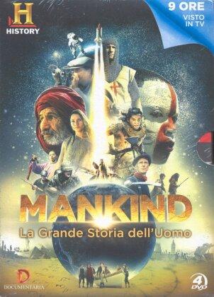 Mankind - La grande storia dell'uomo - (History Channel - 4 DVD) (2012)
