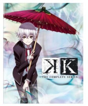 K - The Complete Series (Limited Edition, 2 Blu-rays + 2 DVDs)
