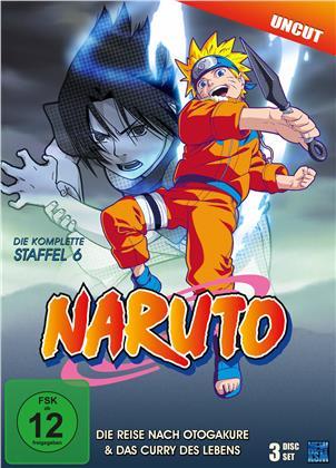 Naruto - Staffel 6 (Uncut, 3 DVDs)