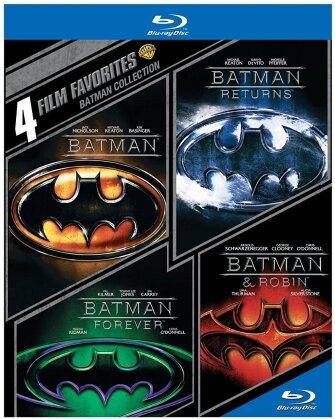 Batman 1-4 - 4 Film Favorites (4 Blu-rays)