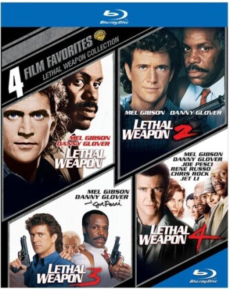 Lethal Weapon 1-4 - 4 Film Favorites (4 Blu-rays)