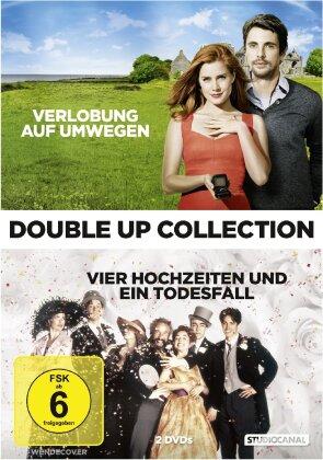 Verlobung auf Umwegen / Vier Hochzeiten und ein Todesfall - Double Up Collection (2 DVDs)