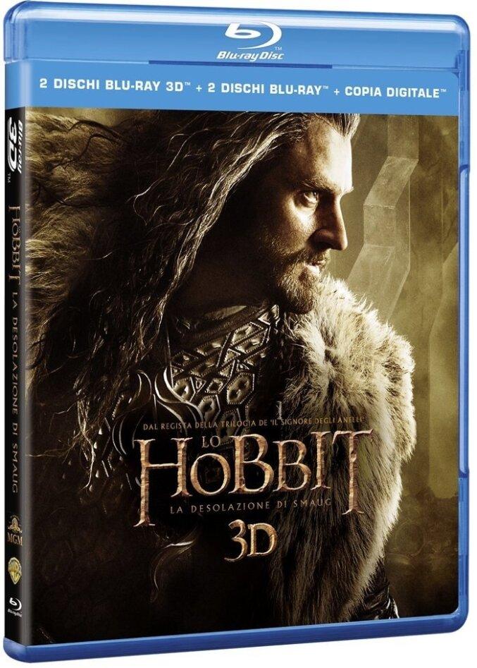 Lo Hobbit 2 - La desolazione di Smaug (2013) (4 Blu-ray 3D (+2D))