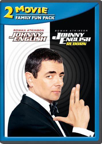 Johnny English 1 + 2 - 2 Movie Family Fun Pack