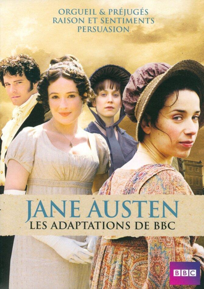 Jane Austen - Les adaptations de BBC (BBC, 4 DVDs)
