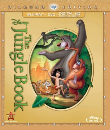 The Jungle Book (1967) (Diamond Edition, Blu-ray + DVD)