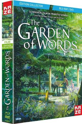 The Garden of Words (2013) (Collector's Edition, Blu-ray + DVD)