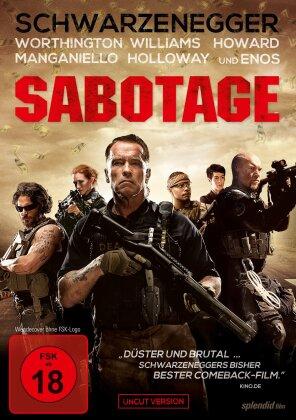 Sabotage - (Uncut - FSK 18) (2014)